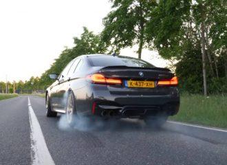 «Κάψιμο» με BMW M5 CS στο 0-310 χλμ./ώρα (+video)
