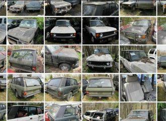Πωλούνται 16 Range Rover σε τιμή ενός καινούργιου