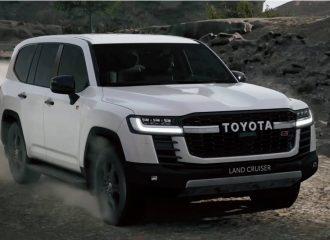 Έτοιμο το πιο χωμάτινο Toyota Land Cruiser GR Sport