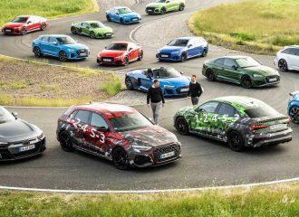 Τα Audi RS υποδέχονται τα νέα RS 3 και RS 3 Sedan