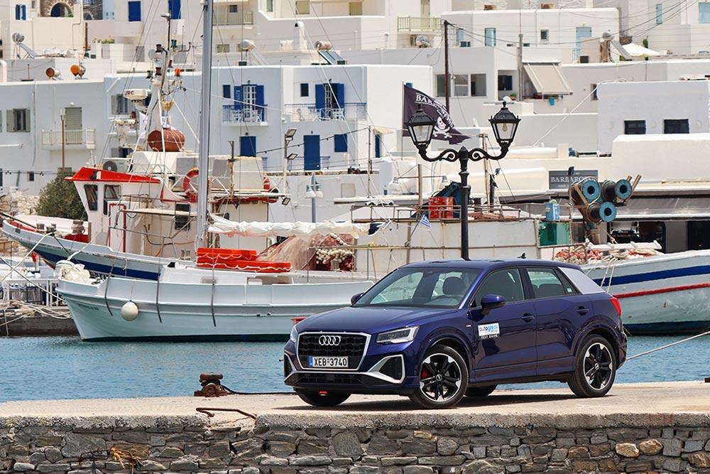 Στην Πάρο με το νέο Audi Q2 35 TFSI 150 PS
