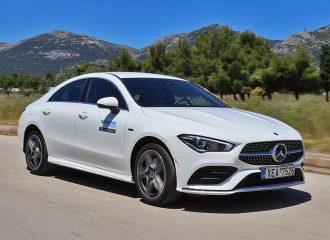 Δοκιμή Mercedes CLA 250 e 1.33 λτ. 218 PS