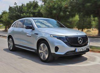 Δοκιμή Mercedes EQC 400 4MATIC 408 PS