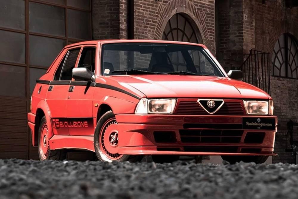 «Βέρα» Alfa 75 Turbo Evoluzione για 84.000 ευρώ