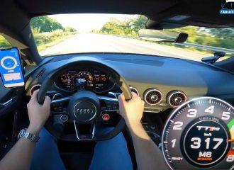 Audi TT RS 625 ίππων προκαλεί «σεισμό» (+video)