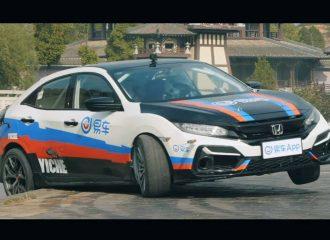 Civic Supra 450 ίππων με το πλάι κι όπου πάει (+video)