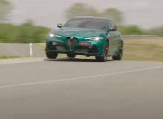 «Αέρα» ο Raikkonen με την Alfa Giulia GTAm (+video)