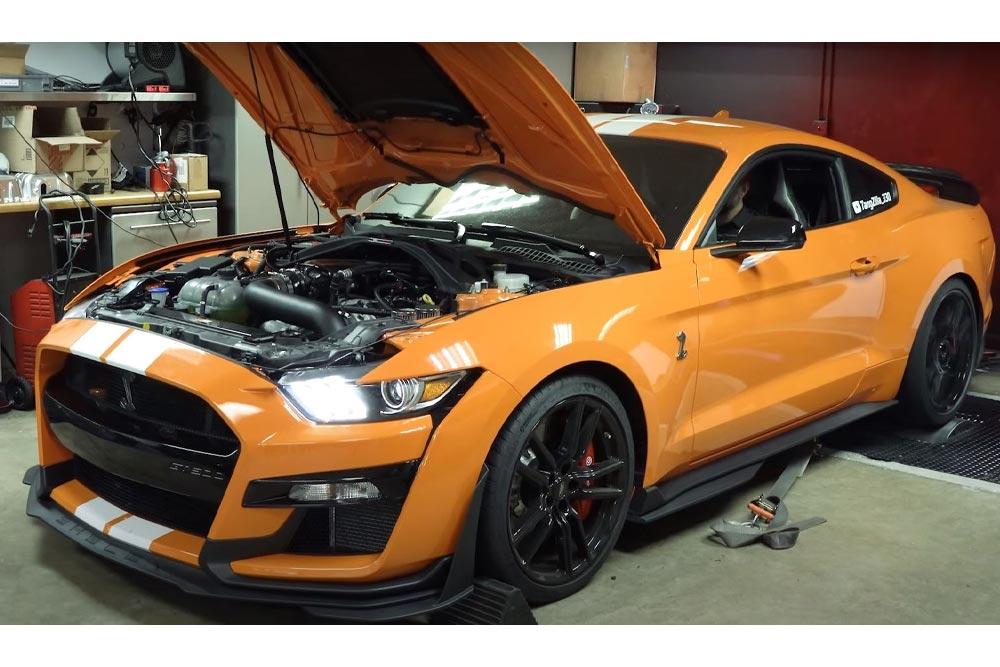 Shelby GT500 1.252 ίππων «βούρκωσε» το δυναμόμετρο (+video)