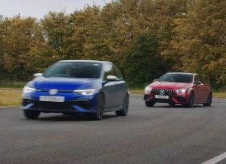Golf R vs AMG A45 S: Η μάχη των Drift Modes (+video)