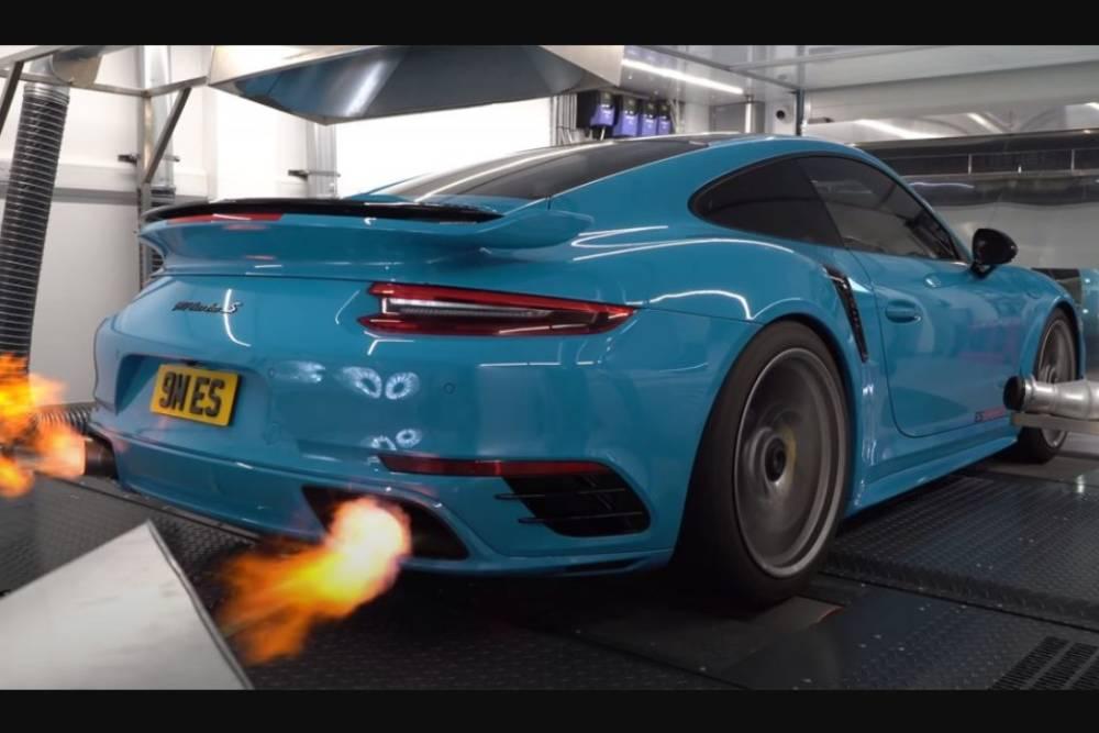 «Πυρηνική» Porsche 911 Turbo S 1.355 ίππων (+video)