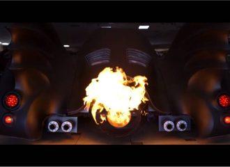 Batmobile με κανονική μετάκαυση για διώκτες του Κακού