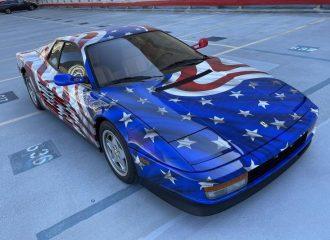 Πωλείται η πιο «αμερικανίλα» Ferrari Testarossa
