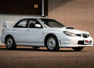 Ανόθευτο Subaru Impreza STI έτοιμο για ράλλυ