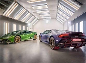 «Σιέστα» με τις λάτιν επετειακές Lamborghini Huracan