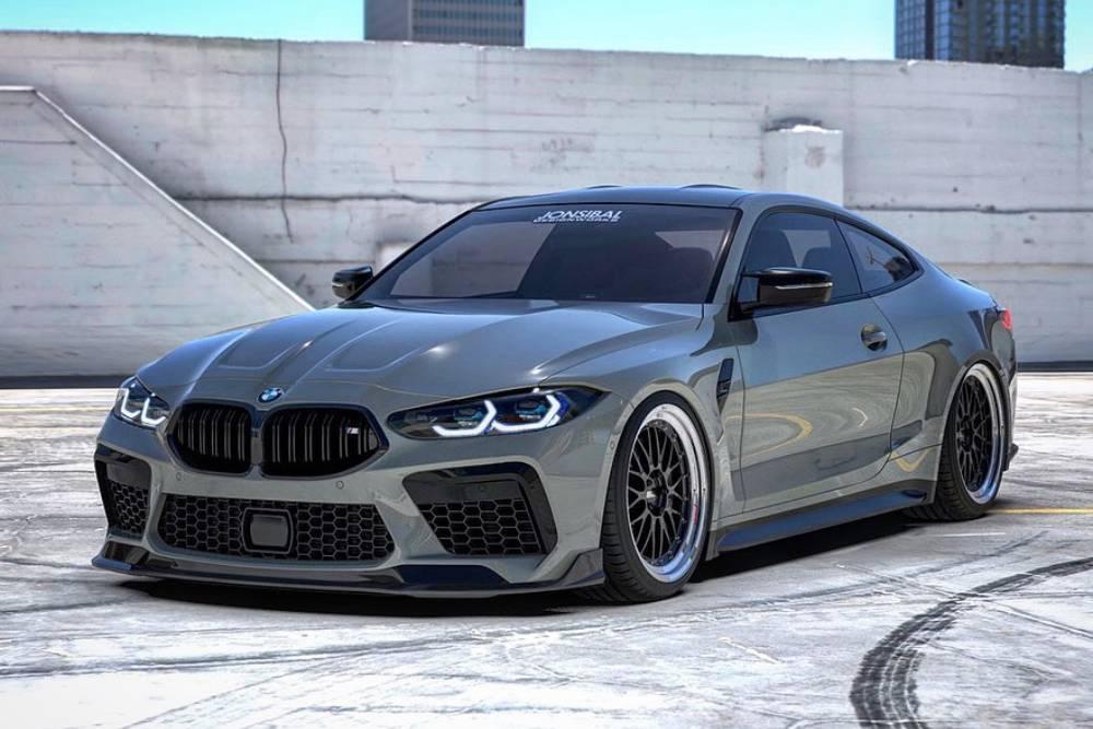 Ταμάμ η μάσκα της BMW M8 στη M4