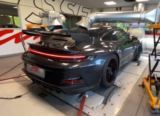 Το ουρλιαχτό της Porsche 911 GT3 στο δυναμόμετρο