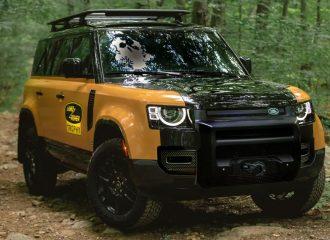 Νέο Land Rover Defender αλά Camel Trophy