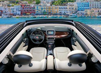 Πρώτη φορά κάμπριο Fiat 500Χ Yachting