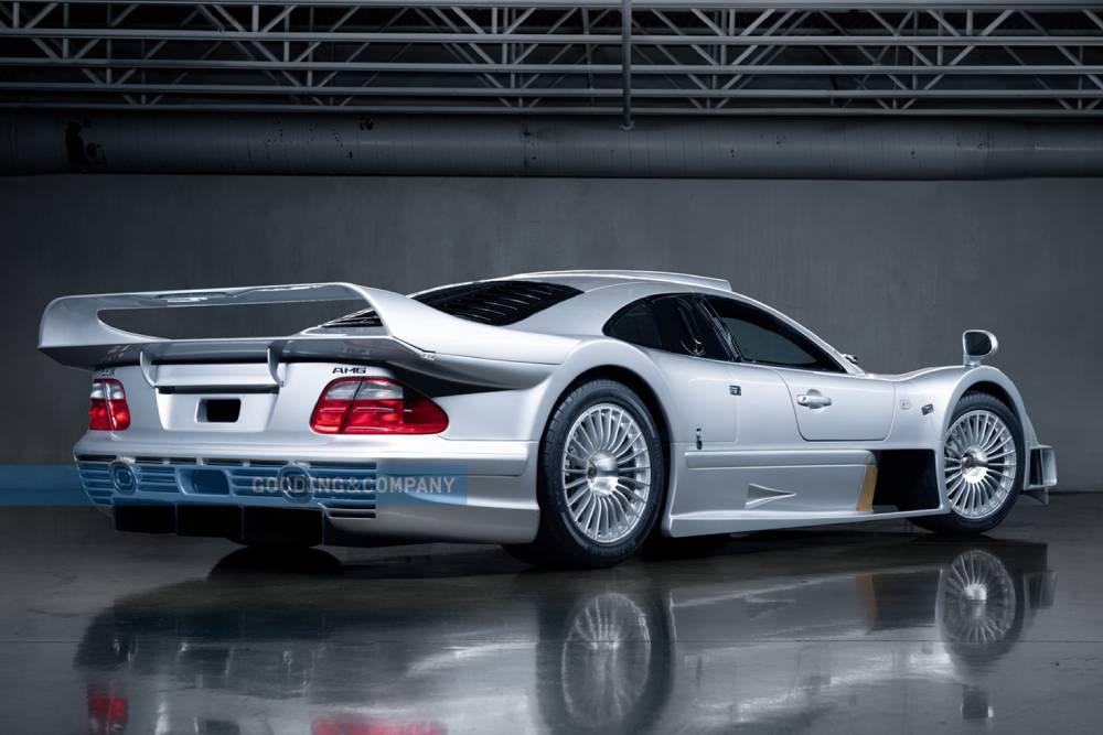 Ασύγκριτη Mercedes CLK GTR πάει για 10 εκατομμύρια!