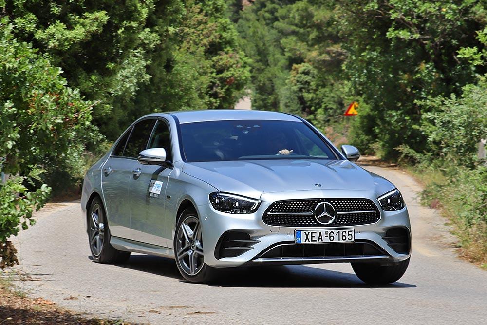 Δοκιμή Mercedes E 300 e 320 PS