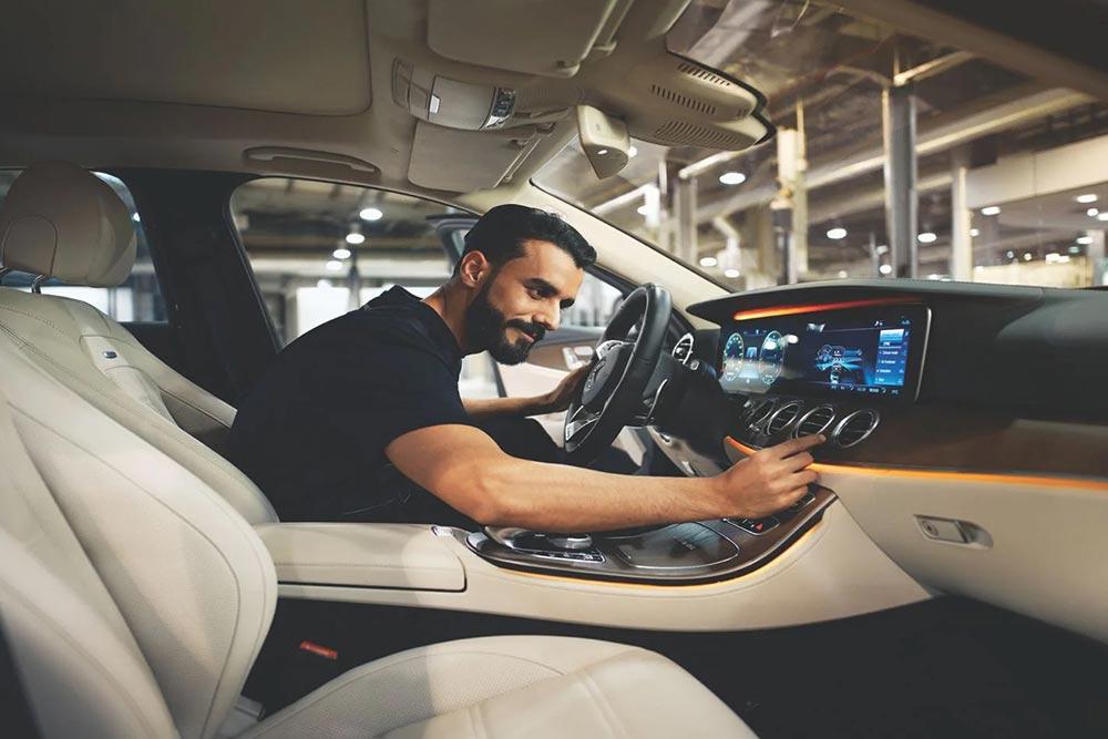 Δωρεάν καλοκαιρινός έλεγχος Mercedes-Benz