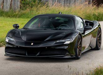 Σκοτεινή Ferrari SF90 από τη Novitec (+video)