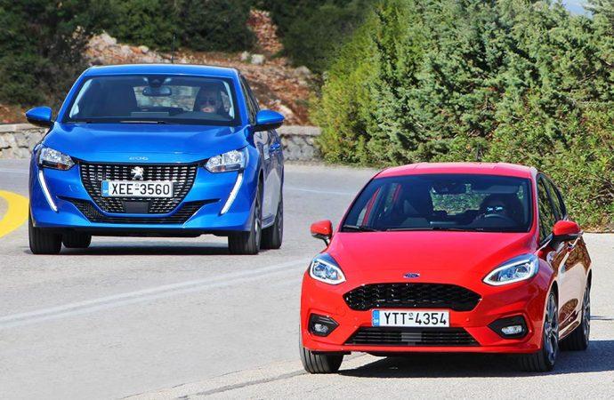 Ford Fiesta 1.0 125 PS Vs Peugeot 208 1.2 100 PS