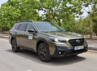 Δοκιμή Subaru Outback 2.5 Adventure 169 PS