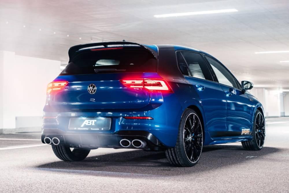 Καπνισμένο δίκανο το VW Golf R της ABT