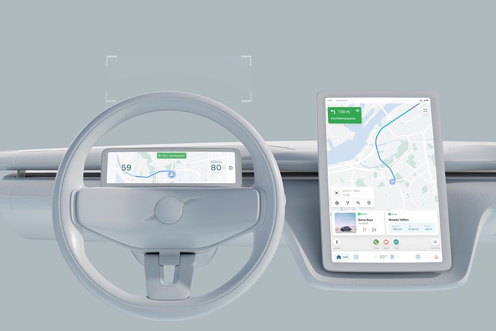 Volvo & Google συνεχίζουν τη συνεργασία τους!