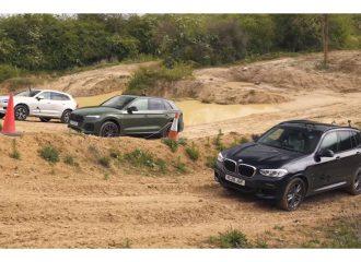 Audi Q5, BMW X3 και Volvo XC60 στα χώματα (+video)
