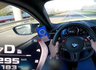 Η BMW M4 «χαϊδεύει» την 300άρα (+video)