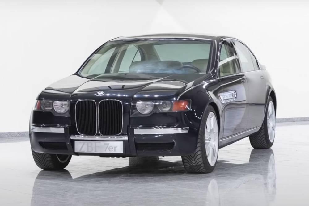 Η BMW είχε έτοιμη την κάθετη μάσκα από το 1996!