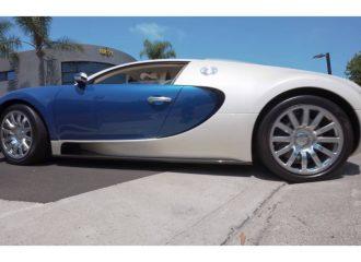 Bugatti Veyron φοράει ακόμα τα πρώτα ελαστικά!