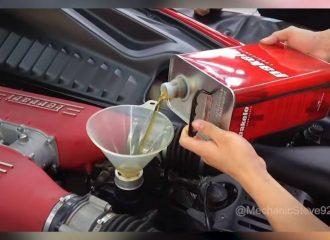 Πώς γίνεται το σέρβις σε μια Ferrari (+video)