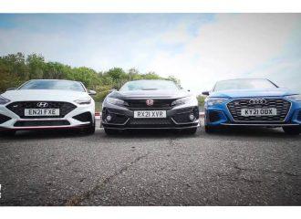Βεντέτα μεταξύ i30 N, Civic Type R και S3 (+video)