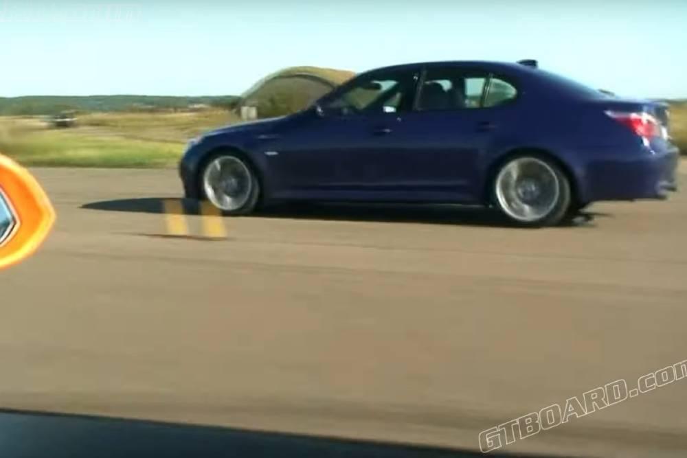V10 «ξυραφιές» με Lamborghini Gallardo και BMW M5