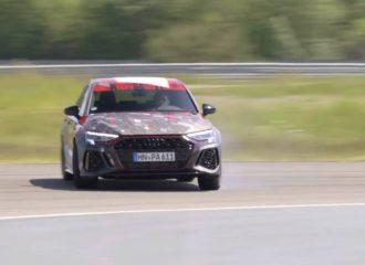 Ήχος και θέαμα με το «ντριφτάδικο» νέο Audi RS 3