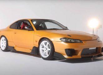 «Γυριστρούλα» Nissan Silvia με αύρα Lamborghini