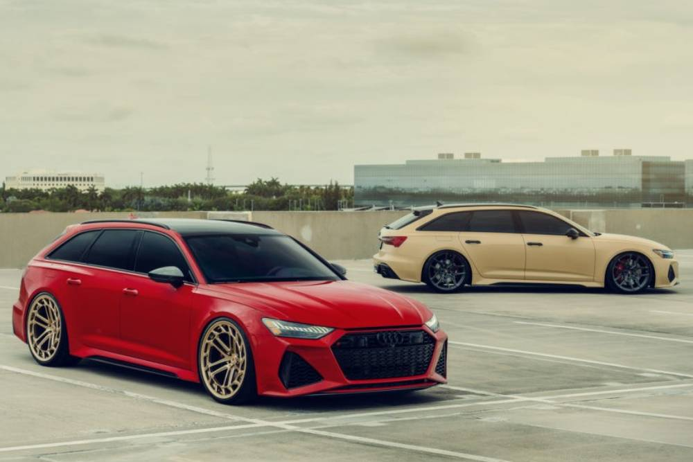 Audi RS 6 «σαύρες» δεν αφήνουν βλέμμα για βλέμμα