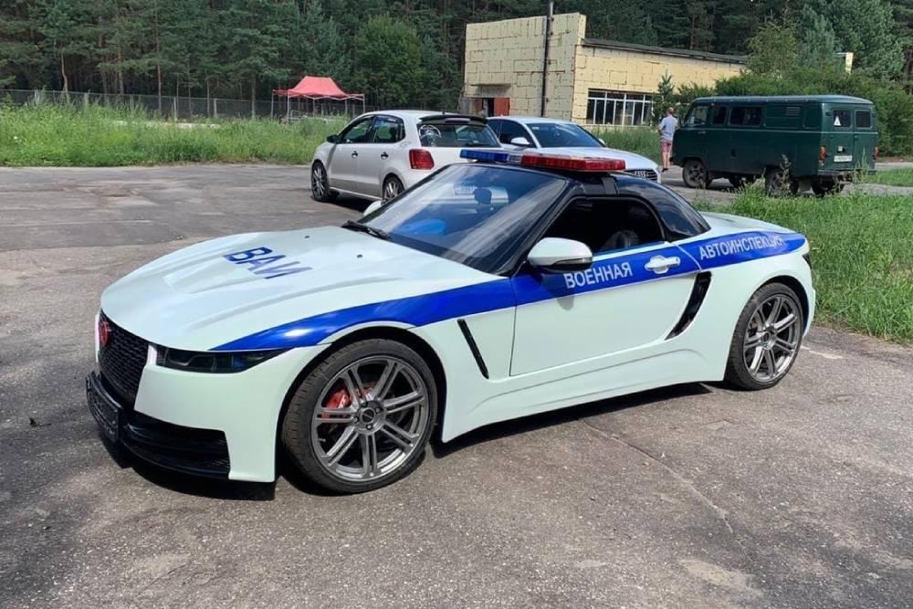 Το ρωσικό roadster περιπολικό των 800 κιλών