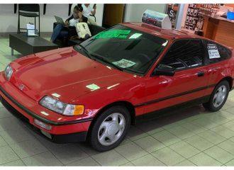 Αεικίνητο Honda CRX με πάνω από 1,6 εκατ. χλμ.!
