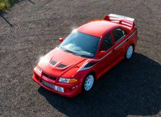 Ρεκόρ χρημάτων για Mitsubishi Evo 6 Tommi Makinen