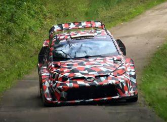 Σανίδα με το νέο Toyota Yaris WRC (+video)