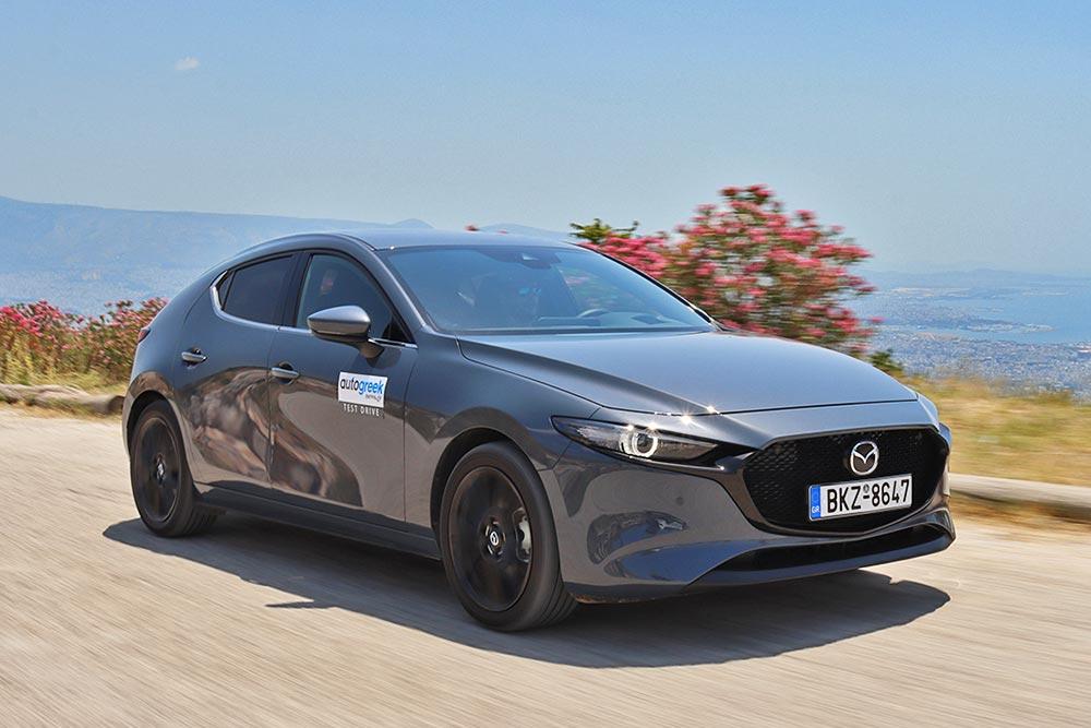 Δοκιμή Mazda3 HB Skyactiv-X 2.0 λτ. 186 PS