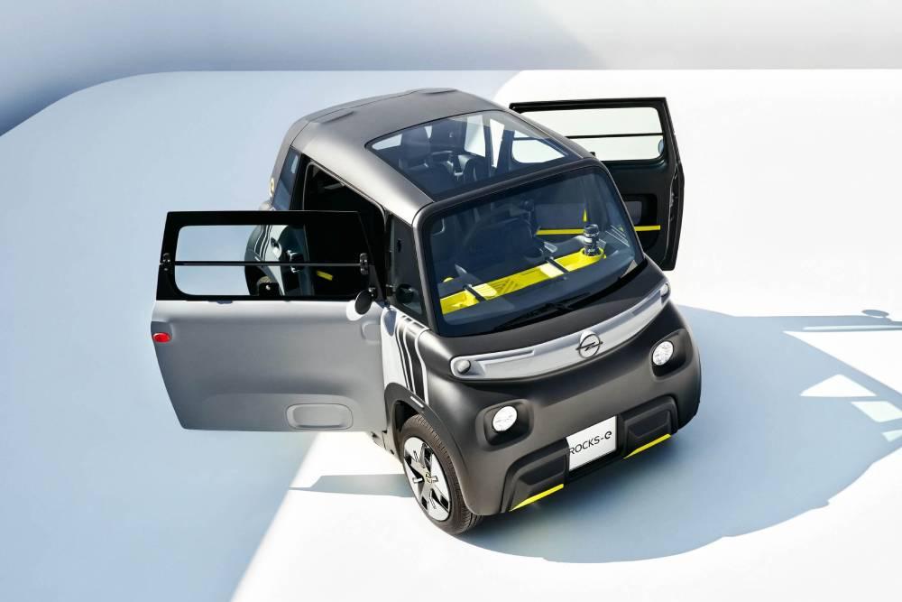 «Ροκάκι» 8 ίππων το νέο Opel Rocks-e