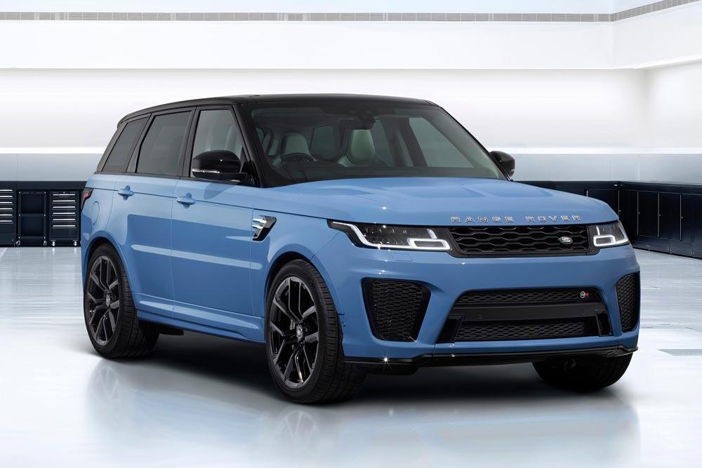 Βγάζει μάτια η Ultimate Edition του Range Rover Sport SVR