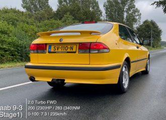 Παλαίμαχο Saab 9-3 2.0T βάζει κάτω νεούδια (+video)
