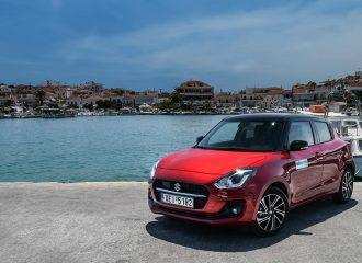 Με το Suzuki Swift 1.2 Hybrid στο Πόρτο Χέλι & Ερμιόνη!