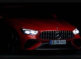 Ξεπρόβαλε η Mercedes-AMG GT 4-Door των 810 ίππων